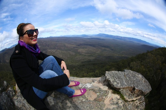 Hello Kiki at the Grampians