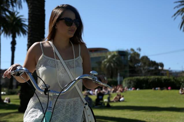 Hello Kiki biking
