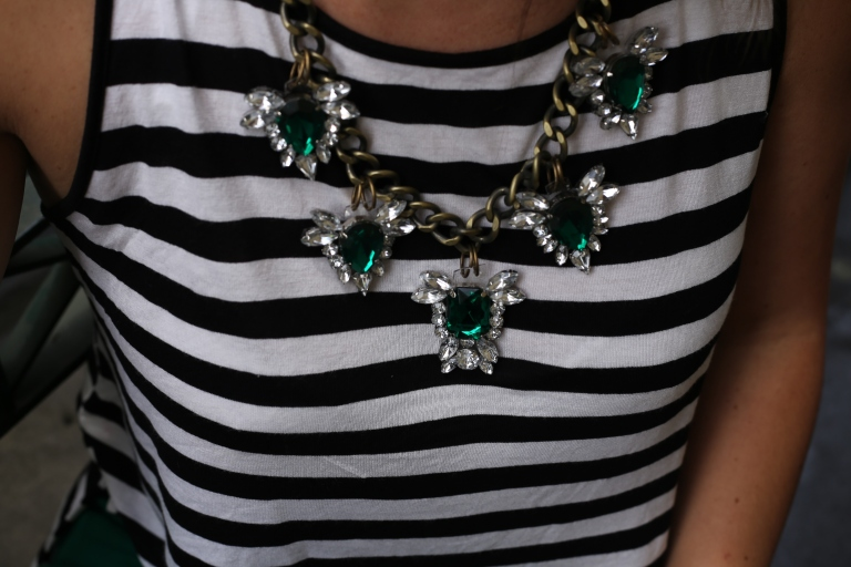 DIY Necklace by Wander & Hunt