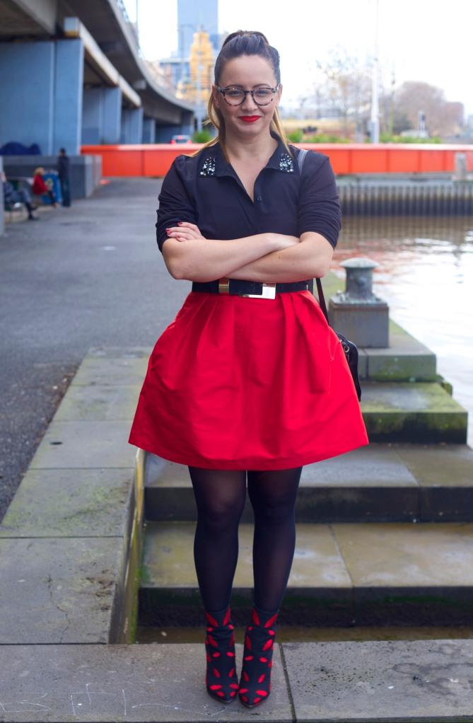 Hello Kiki - wearing Charlotte Olympia boots
