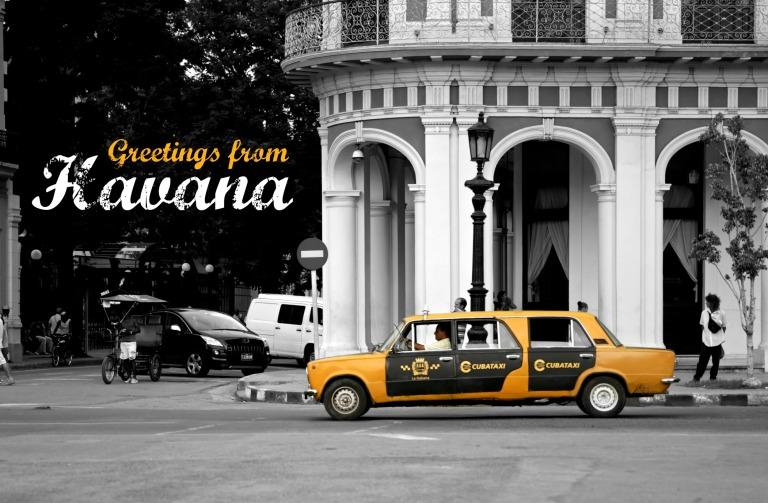 Taxipostcard