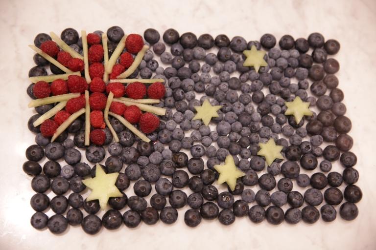 Australia Flag Fruit