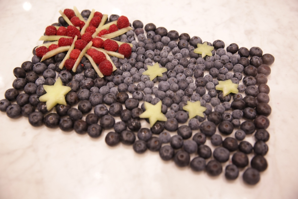 Australia Flag Fruit