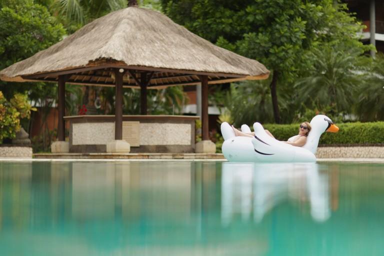 Hello Kiki Giant Swan Bali