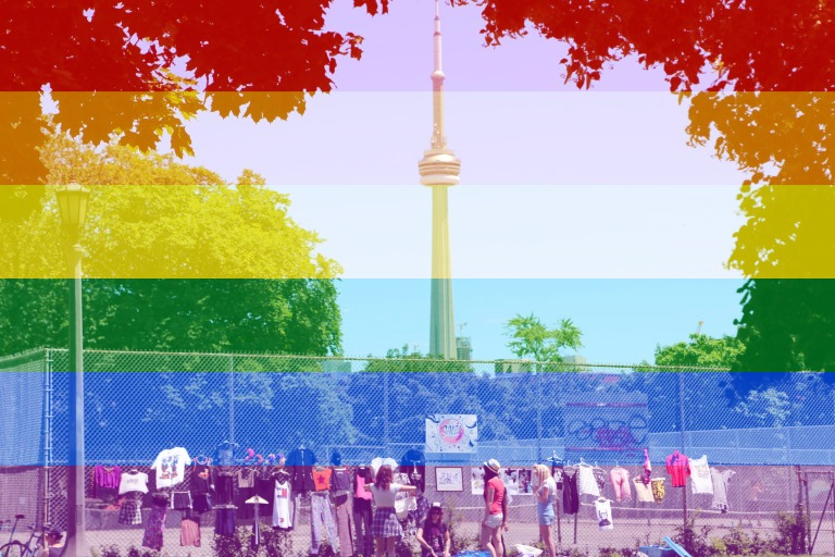 Canada pride and day