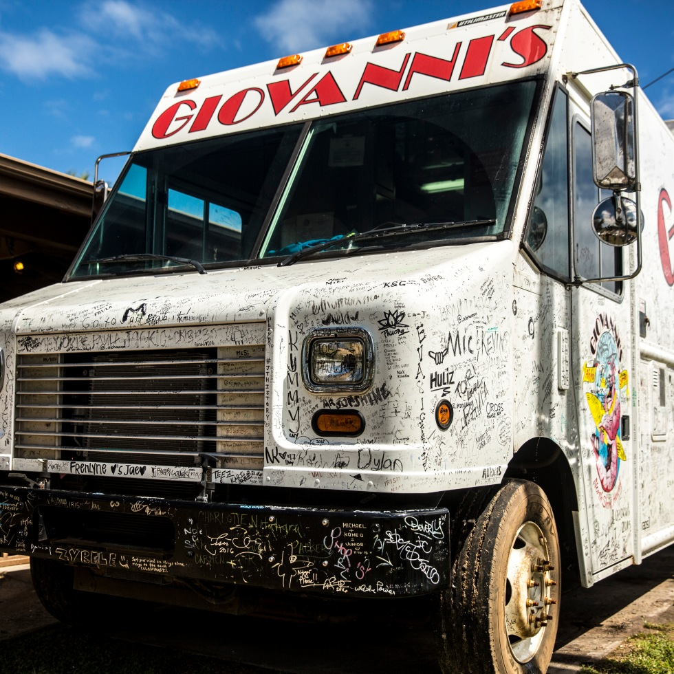 Giovanni's food truck north shore